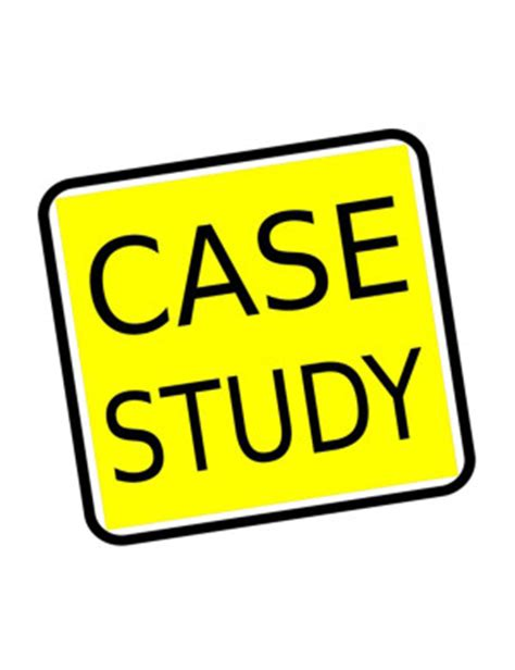 Case study executive summary template
